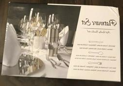 68-Piece Silverware Set with Serving Pieces, Service for 12