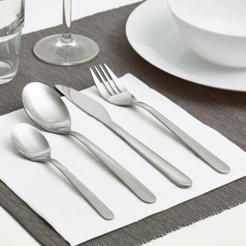 IKEA 32 pieces Stainless Steel Knife fork spoon