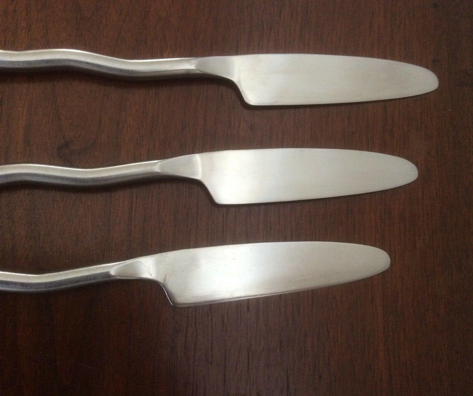 Gourmet Settings Stainless Flatware Spoons Knives