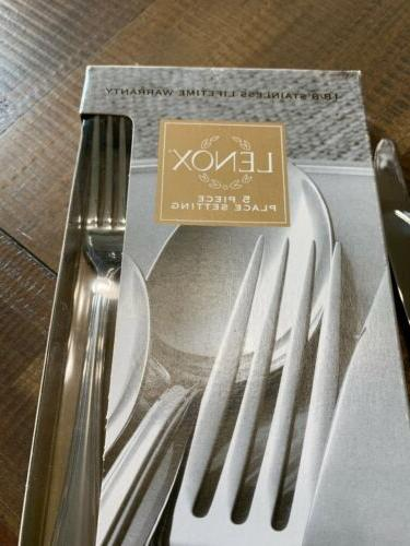 NEW Chandelle Frosted 2 place settings