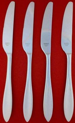 NEW Set of 4 Lenox SCULPT Stainless Silverware Table Place B