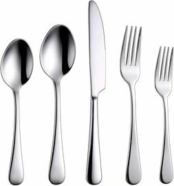 Silverware 18/10 Stainless Steel Flatware Set Service for 4